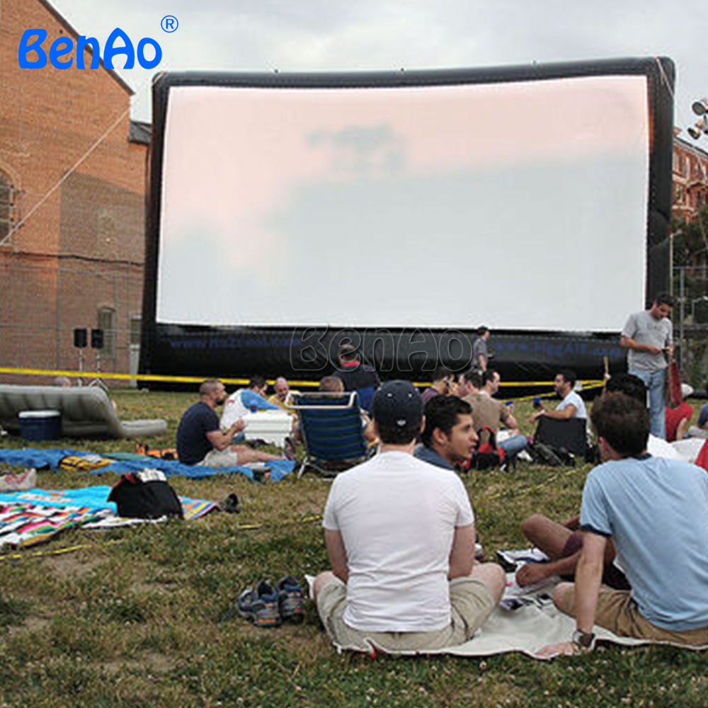 M016 BENAO  Free shipping+ Air blower Low prices Outdoor advertising inflatable movie screen for advertising free shipping inflatable air blower pump 800w