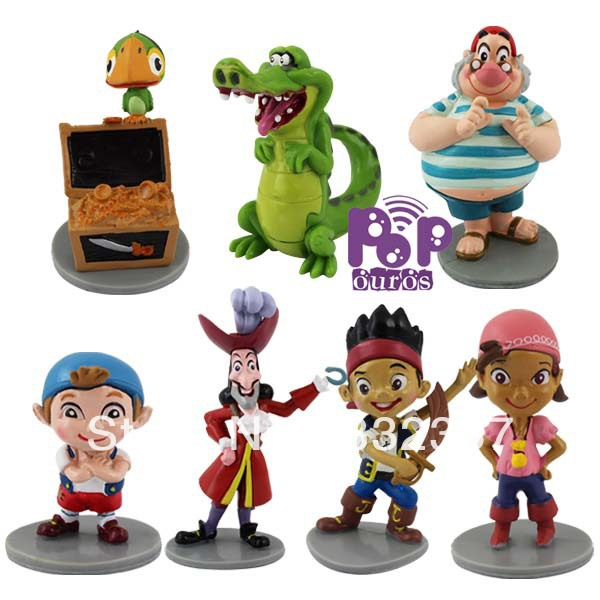 Pop anime font b figure b font PVC Jake and the Never Land Pirates font b