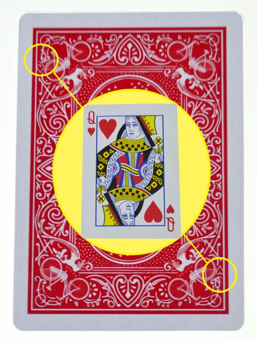 Marked Stripper Deck Playing Cards Poker Magic Tricks Close Up Street Illusion Gimmick Props Mentalism Kid Child Puzzle Toy 1pcs cards magic tricks floating poker cards magic props ufo card mentalism close up stage magic 032