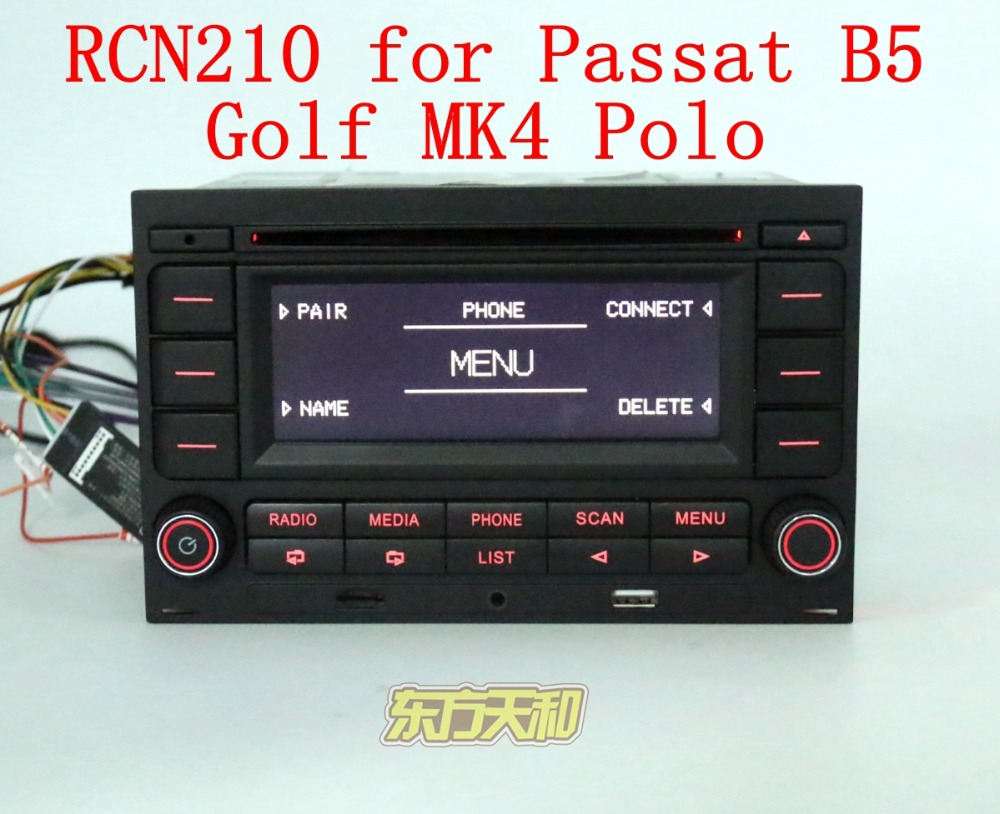 car radio cd player rcn210 cd usb mp3 aux bluetooth player. Black Bedroom Furniture Sets. Home Design Ideas