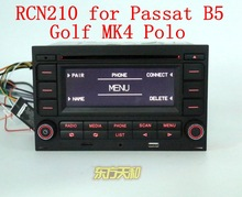 Quality Guaranteed Original Car Radio RCN210 CD USB MP3 AUX Bluetooth Player for Golf MK4 Passat B5 Polo