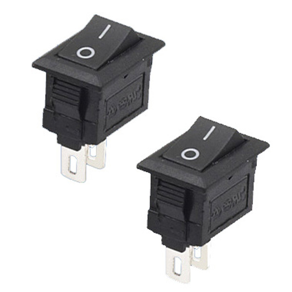 New Mini 5Pcs/Lot 2 Pin Snap-in On/Off Position Snap Boat Button Switch 12V/110V/250V T1405 P0.5 20pcs lot mini boat rocker switch spst snap in ac 250v 3a 125v 6a 2 pin on off 10 15mm free shipping