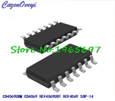10pcs/lot CD4069UBM CD4069 HEF4069UBT HEF4069 SOP-14 In Stock