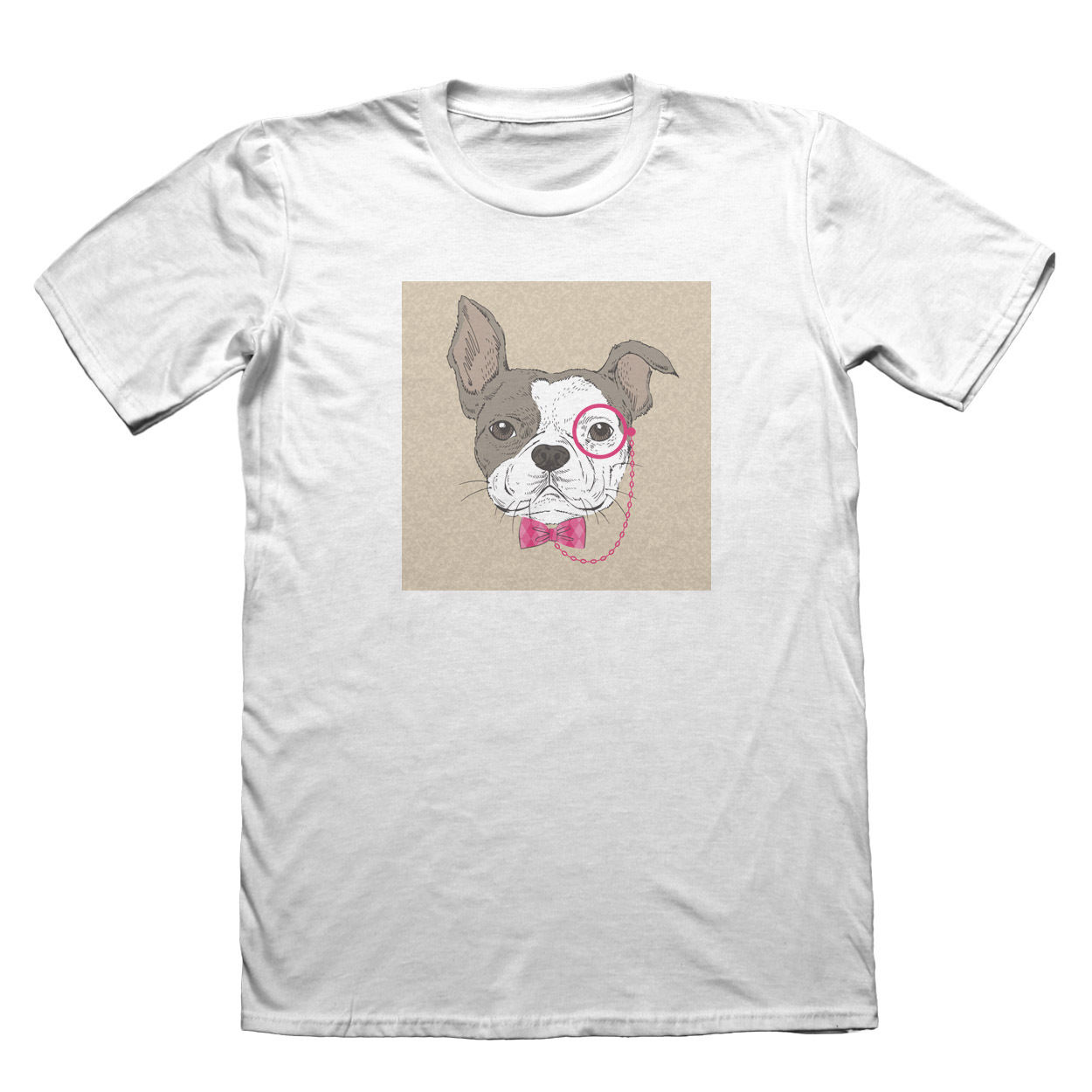 Cool Dog Pug T-Shirt - Fathers Day Christmas Gift #7519