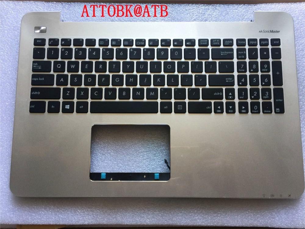 New standard Laptop palmrest Keyboard for ASUS V555 V555L V555U V555UQ K555U X555M VM590L with cover