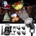 À prova d' água AU/REINO UNIDO/UE/EUA Plug 12 Padrão Paisagem Luz Em Movimento A Laser Estágio luz Do Projetor LEVOU Ao Ar Livre luz de Natal