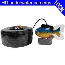 Fashion appearance HD video 100M HD underwater camera high resolution support horizontalsun visor IR LED night vision