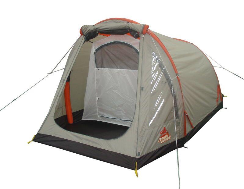 Double camping ultra léger tente gonflable exportés vers la Corée Du Sud, le Japon, europe et les États-unis filet plein endroit exclusif