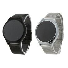 M7S Водонепроницаемый OLED Сенсорный экран браслет Фитнес трекер артериального давления Monitores часы с Нержавеющая сталь ремень
