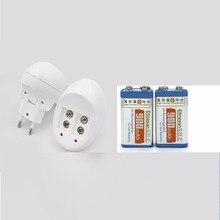 2 шт./лот 900 мАч литий-ионный Перезаряжаемые 9 вольт Батарея + Универсальный 9 В AA AAA 18650 14500 CR123A зарядное устройство Комплект