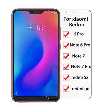 9H Tempered Glass for Xiaomi redmi go 6pro note 6 pro note7 note 7 pro S2 Screen Protector Full Cover 2.5D HD Clarity Glass Film redmi note 7 pro cover