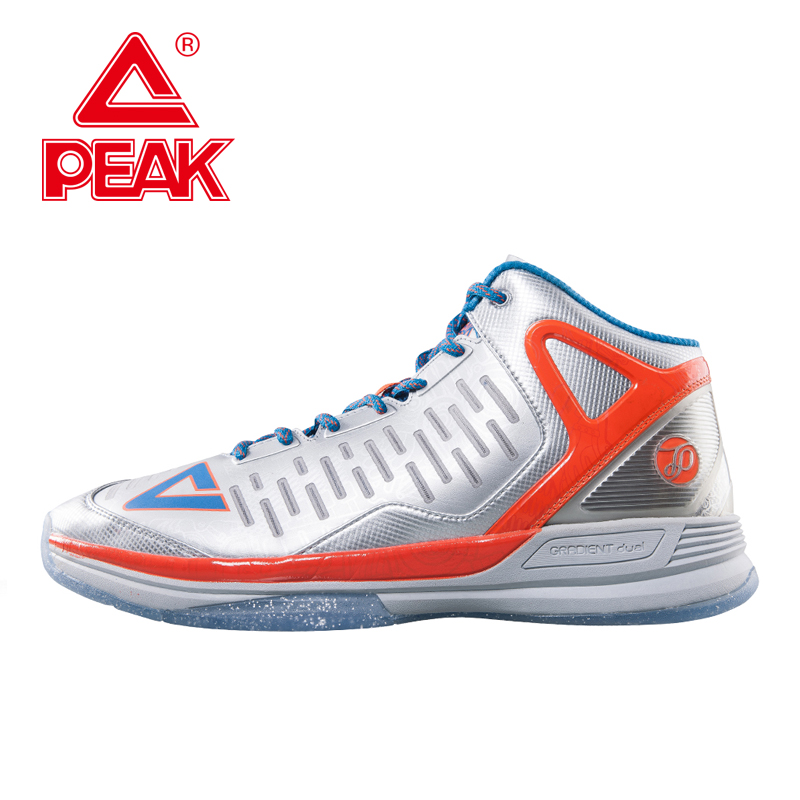 PEAK SPORT Tony Parker TP9 II Men Basketball Shoes Breathable Athletic Sneaker Gradient Dual FOOTHOLD Tech Boots Size EUR 40-50 peak sport speed eagle v men basketball shoes cushion 3 revolve tech sneakers breathable damping wear athletic boots eur 40 50
