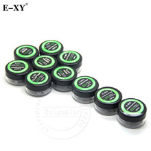 E-XY Heating Coil Wire For Electronic Cigarette Rebuildable Atomizer Heating Wire Twisted Prebuilt Coil For Rda Atomizer 30Pcs