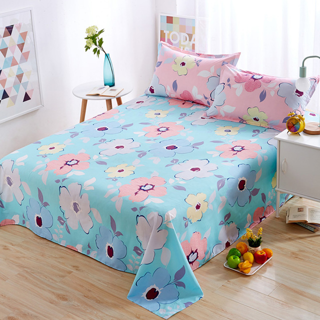 Aliexpresscom Buy New Flowers Style Bed Sheets Home Decor