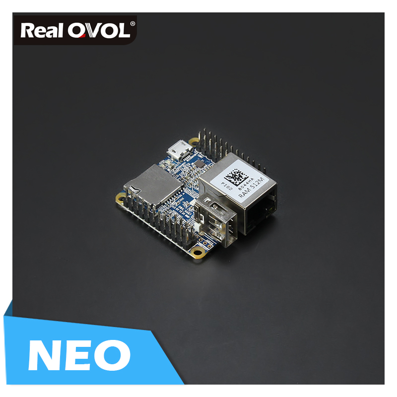 RealQvol FriendlyELEC NanoPi NEO 256M/512M Allwinner H3 Quad-core Cortex-A7 (Runs U-boot,Ubuntu-Core)