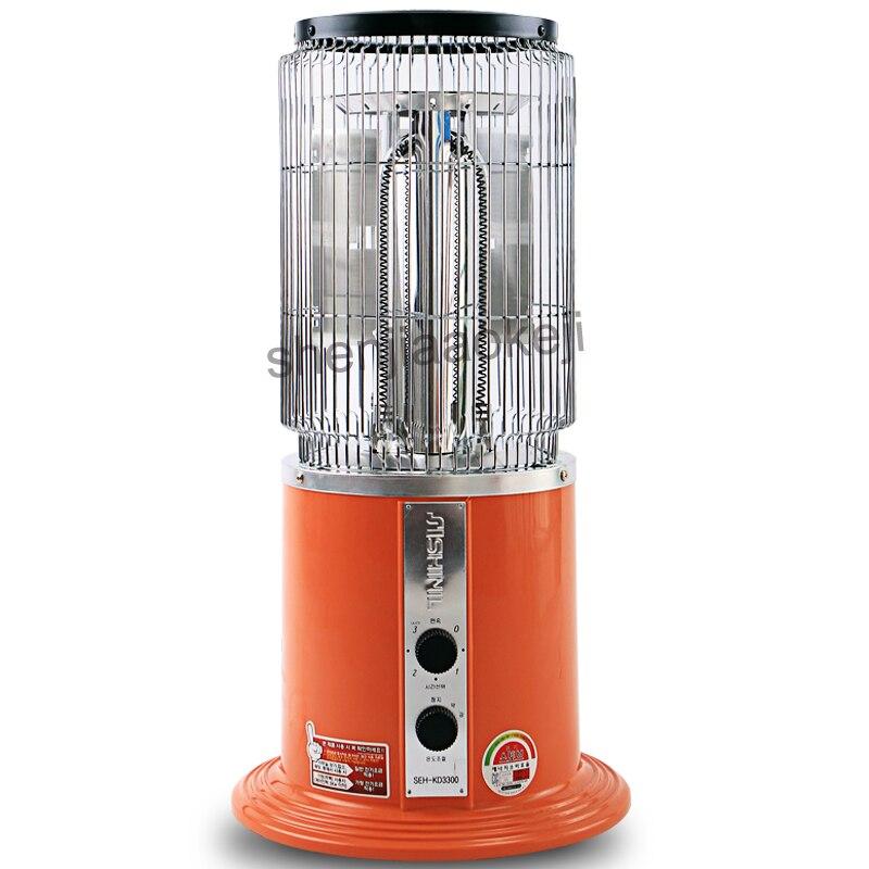 Uso Domestico Riscaldatore elettrico riscaldamento stufa 2 di Controllo del Cambio Mute Ventilatore Elettrico Per L'inverno Più Caldo Multi funzione di riscaldatore ad aria 220 v