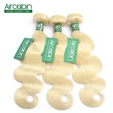 613 Honey Blonde Bundles Body Wave Brazilian Hair Weave Bundles 100%  Human Hair Extensions 3 Bundles 12 to 30 Inches Non Remy