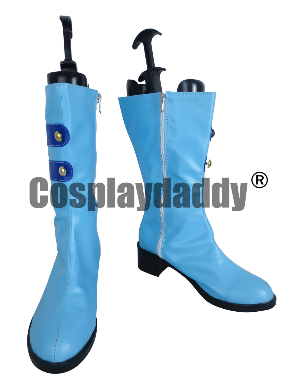 LoveLive! Love Live Start dash!! Umi Sonoda Blue LongCosplay Shoes Boots X002