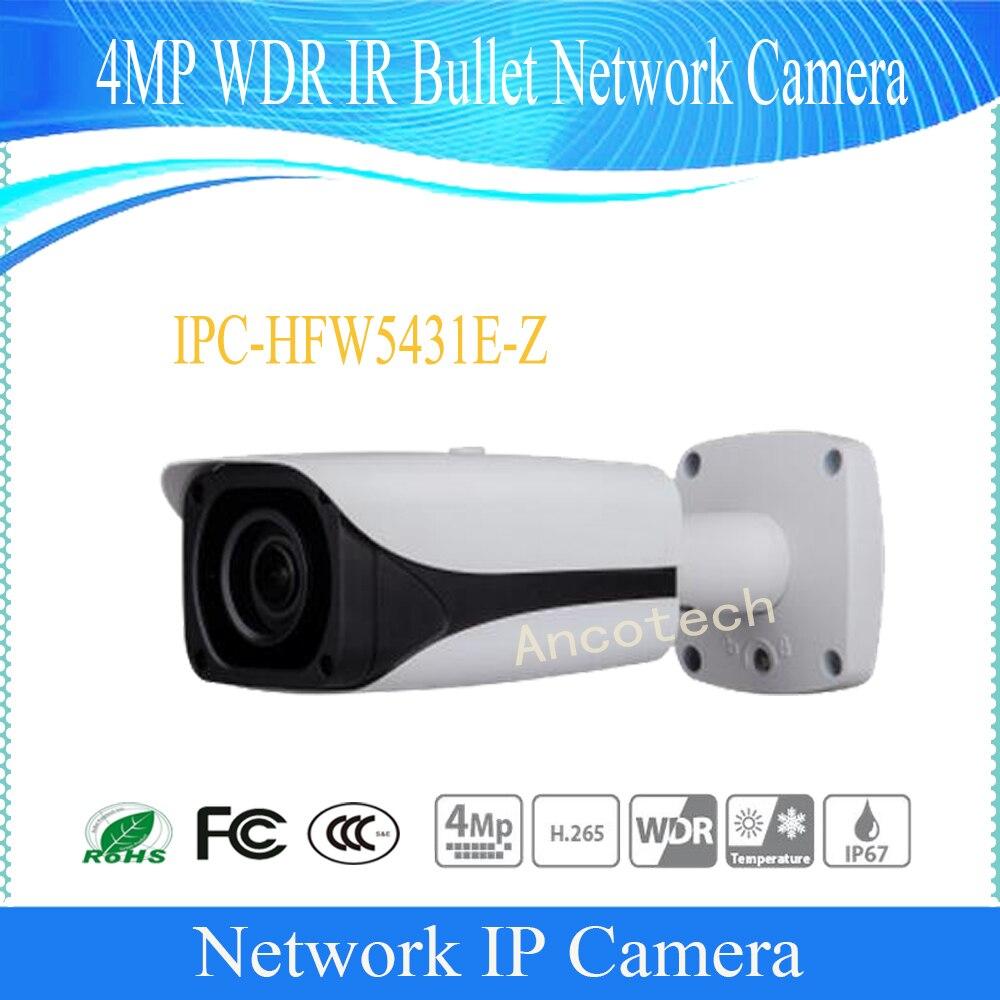 bilder für Freies Verschiffen DAHUA CCTV IP Kamera 4MP WDR IR Gewehrkugel-netzwerkkamera IP67 mit POE ohne Logo IPC-HFW5431E-Z