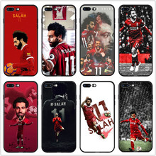 IMIDO Football player MOHAMED SALAH Soft silicone phone case For iPhone X 6s 6plus 6 7plus 7 8 8plus 5 5S SE XR XS max TPU Cover все цены