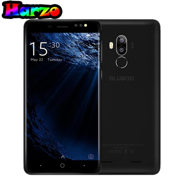 Original Bluboo D1 MTK6580A Android 7.0 Quad-core 1.5GHz Dual Rear Camera 5.0 Inch cellphone 2GB RAM+16GB ROM 2600mAh Smartphone