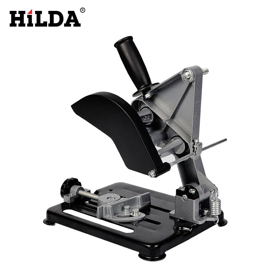 HILDA Dremel outils électriques accessoires de meuleuse universelle Support de meuleuse d'angle outil de travail du bois bricolage coupe Support de meuleuse