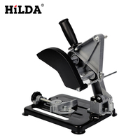 HILDA Dremel Power Tools Universal Grinder Accessories Angle Grinder Holder Woodworking Tool DIY Cut Stand Grinder Support
