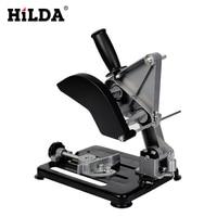HILDA Dremel Power Tools Universal Grinder Accessories Angle Grinder Holder Woodworking Tool DIY Cut Stand Grinder Support