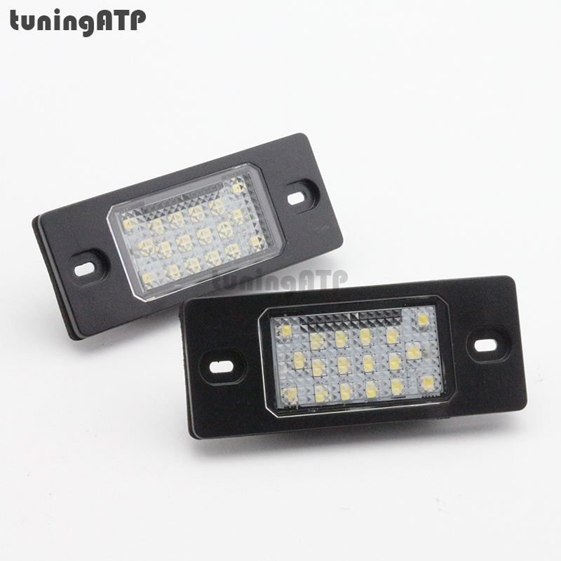 SMD LED Number License Plate Light Lamps for SKODA Fabia Mk1 6Y motorcycle tail tidy fender eliminator registration license plate holder bracket led light for ducati panigale 899 free shipping