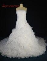 יוקרה חמה למכירה Royeememo רך טול עבודת יד פרח 1.2 m רויאל רכבת שמלות חתונה גודל מותאם אישית 2017 מפעל ישירות