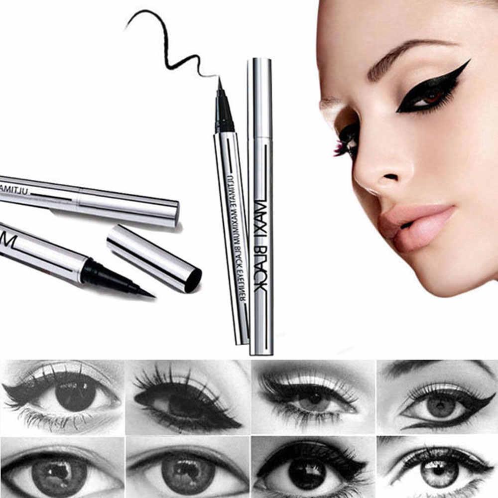 5 stil Wählen Ultimative 1 Pcs Schwarz Langlebig Eye Liner Bleistift Wasserdicht Eyeliner Wisch-Proof Kosmetik Schönheit Make-Up flüssigkeit