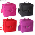 Professional Makeup Bags Cloth Cosmetics Boxes Portable Shoulder-style Artists Free Shipping