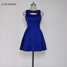 Scoop-line Blue E vestido