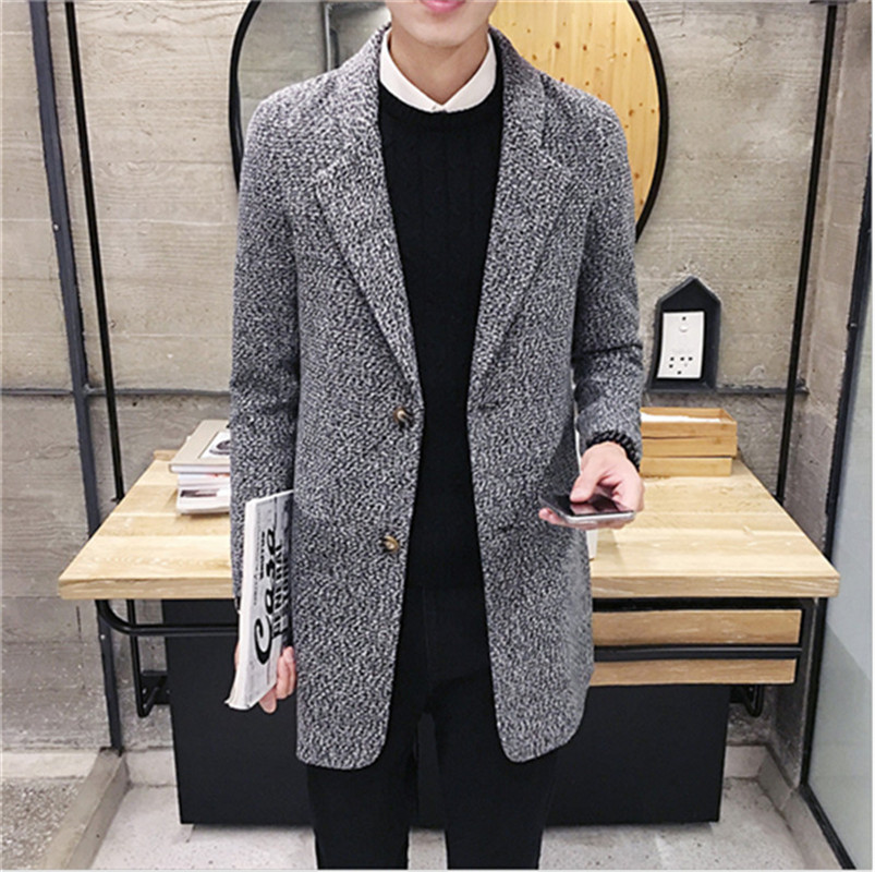Compare Prices on Mens Tweed Long Coat- Online Shopping/Buy Low ...