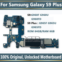 100% Original Unlock Motherboard For Samsung Galaxy S9 PLUS