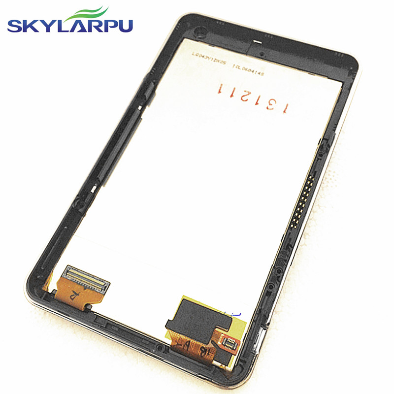 skylarpu 4.3 inch LQ043Y1DX05 LCD screen for GARMIN Nuvi 3490 3490LM 3490LMT GPS LCD display Screen panel with Touch screen new 5 inch lcd display screen with touch screen panel digitizer for garmin nuvi 3597 3597lm 3597lmt lms501kf08 hd gps navigation