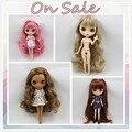 Boneca nua Para A Série Sem roupas Nude Blyth boneca Adequado Para maquiagem por si mesmo DIY Mudança Toy BJD Para Meninas Fábrica Blyth