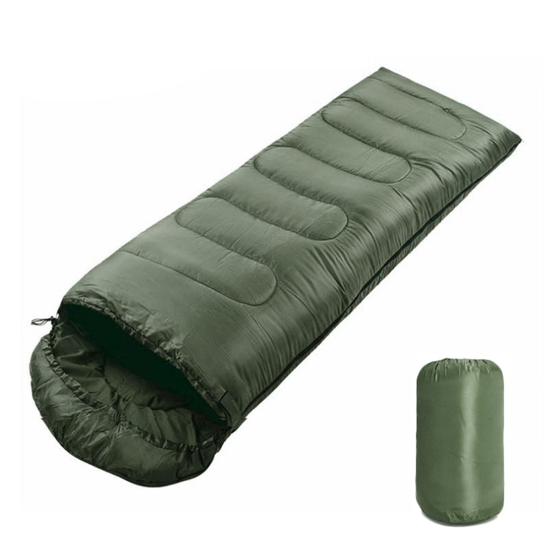 Portable Lightweight Envelope Sleeping Bag with Compression Sack for Camping Hiking Backpacking for Outdoor Traveling Hiking in Sleeping Bags from Sports Entertainment