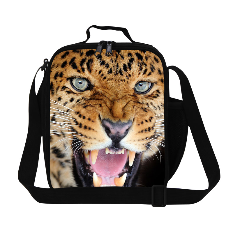 Children Cooler Bags For Boys And S Leopard Print Lunch Bag Keep Food Warm Picnic Thermal Lunchbox Meal Package In From Luggage