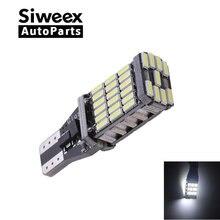 T15 W16W 921 супер яркий высокой мощности 45 SMD 4014 LED Canbus без ошибок автомобильный резервный фонарь лампа Тормозная лампа ксеноновая белая
