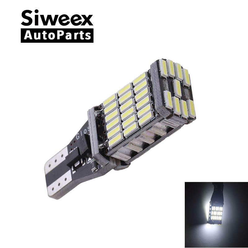 T15 W16W 921 Super Bright High Power 45 SMD 4014 LED Canbus No ERROR Car Backup Reserve Lights Bulb Brake Lamp Xenon White