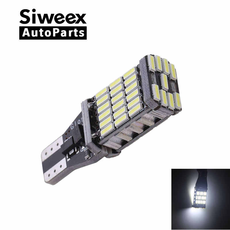 T15 W16W 921 Super Helle Hohe Leistung 45 SMD 4014 LED Canbus Kein FEHLER Auto Backup-reserve-glühlampe Bremse lampe Xenon Weiß