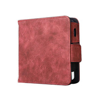 JINXINGCHENG Pouch Bag Wallet Case for Iqos 2.4 Plus PU Leather Carrying Case Protective Holder Cover Box