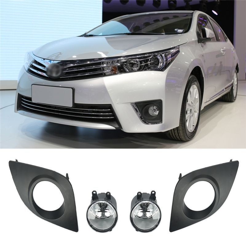 For Toyota Corolla 2014 2015 2016 4pcs  1set Front Bumper