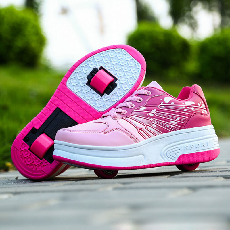 chaussure a roulette fille nike