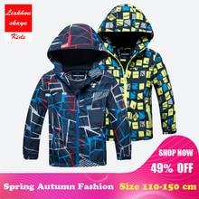 hot deal buy liakhouskaya 2018 children boys jacket 4-15t winter autumn outerwear & coats kids polar fleece windproof waterproof windbreaker