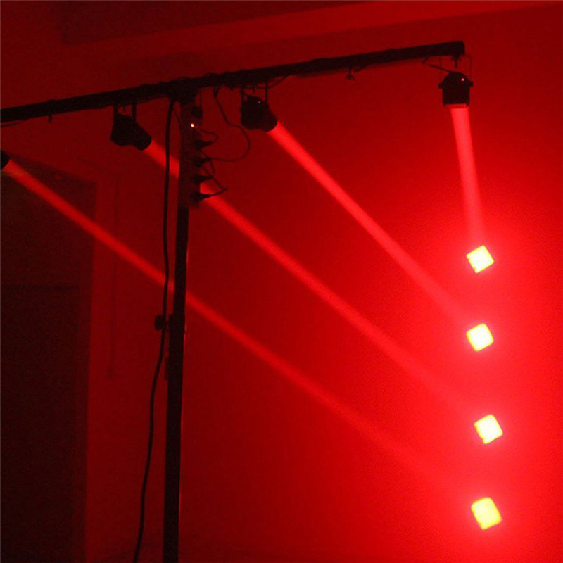 Newest RGB Stage Lights LED Mood Light KTV Portable Wedding Supplies Stage Lamp Adjustable Beam Lights Moving Head Disco Light