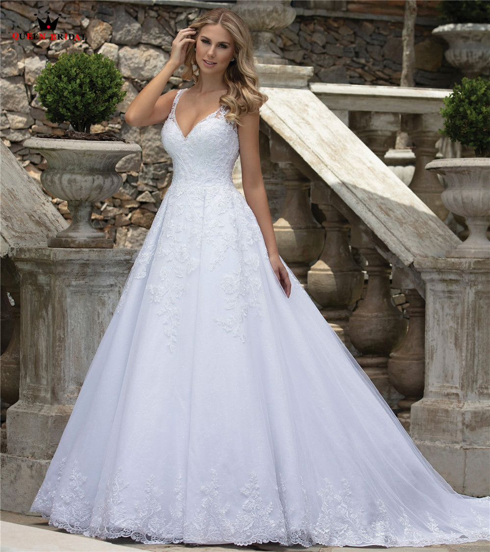 2019 Wedding Ball Gowns: 2019 New Design Sexy Wedding Dresses Ball Gown Open Back