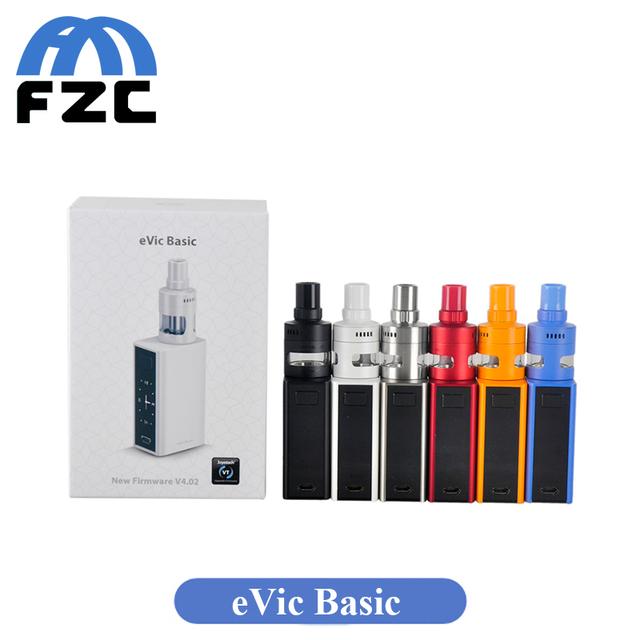 Original Joyetech eVic Básico Com Cubis Mini Kit Pro 1500 mah eVic Bateria com 2 ml básica V4.02 Cubis Pro Mini Atomizador em Estoque