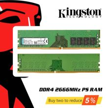 Originele Kingston DDR4 Ram Geheugen 8Gb 4Gb 16Gb 2666Mhz Memoria Ddr 4 8 16 Gigabytes Optredens sticks Voor Desktop Pc(China)